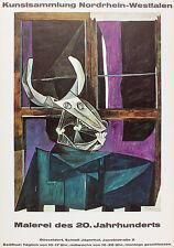 Picasso. Ausstellung Schloß Jägerhof in Düsseldorf 1967
