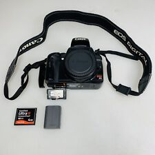 Canon EOS Rebel Xti 18.0MP Digital SLR Camera - Black For Parts Only