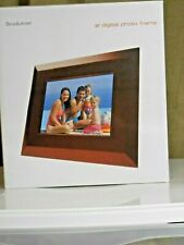 """BROOKSTONE  8"""" DIGITAL PICTURE FRAME/SHOW"""