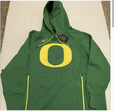 ❗️ NCAA Nike Therma Oregon Ducks Official On Field Hoodie Size Men's Large