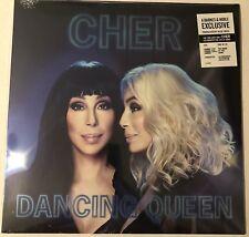 CHER DANCING QUEEN LP TRANSLUCENT BLUE VINYL EXCLUSIVE ABBA