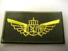 Norway Norwegian Air Force Badge PILOT wings cloth s.y.