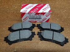 Toyota Sienna 2011-16 Rear Genuine OEM Ceramic Brake Pads w/o Shims 04466-AZ109