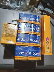 KODAK EKTACHROME E100VS  35mm/36exp; 10-rolls  +  3 - 120 rolls  Expired  FROZEN
