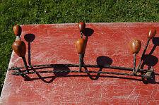 PORTE MANTEAU ,PATERE, 45 cm de large ,Fer forgé //C27