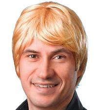 Les cheveux courts perruque Mâle Blonde Métro Sexuel Surfer austalian robe fantaisie