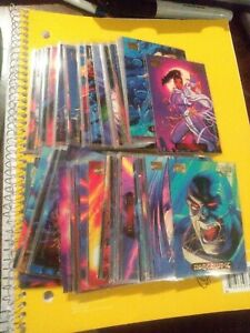 1994 Marvel Masterpieces Gold Signature Lot Of 45 All Different
