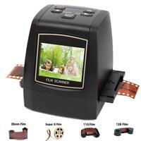 22MP All-In-1 35mm/135 110 126KPK Super 8 Film Slide Negative Scanner Converter