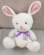 """Easter Baby Bunny Rabbit """"He Is Risen"""" 8"""""""