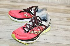 Saucony Triumph ISO 2 Womens Size 9 Coral/Silver/Lime (Repair)