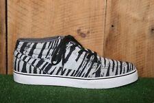 NIKE SB Stefan Janoski 'Mid PRM' 642061-001 Tiger Gray Skate Shoes Sz. 12