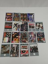 Assorted Lot Of 18- 1998 Kiss Cards