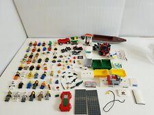 HUGE Lego Minifigures Job Lot Bundle - Parts, Motobikes, Boat, Truck, Octan, Car