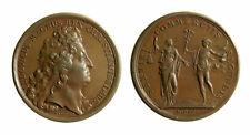 s296_7) Francia Luigi XIV (1643-1715) Medaglia 1700 Camera di Commercio mm 40