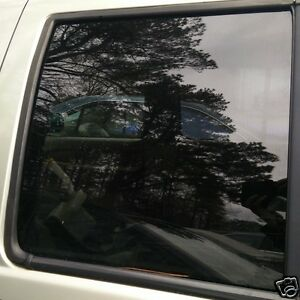 2001-2003 INFINITI QX4 LEFT DRIVER REAR DOOR GLASS WINDOW OEM