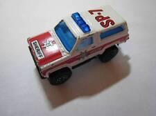 MATCHBOX SUPERFAST 4X4 1983 CHEVY BLAZER SHERIFF