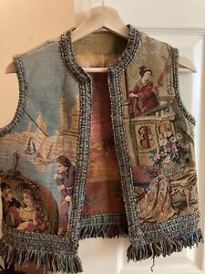 Hand Sewn Embroidered Women's Vest