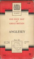 Ordnance Survey Anglesey Sheet 106 - Ordnance Survey - Acceptable - Map