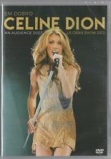 DVD CELINE DION - LE GRAND SHOW 2012  + AN AUDIENCE WITH 07 [BRAZILIAN RELEASE]