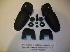 2003 03 Kia Sorento Rear Liftgate Hatch Glass Window Hinge Set R & L OEM#DS017>