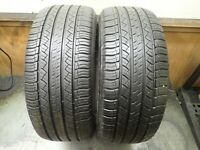 2 245 45 19 98V Michelin Latitude Tour HP Tires 7.5-8.5/32 No Repairs 0119
