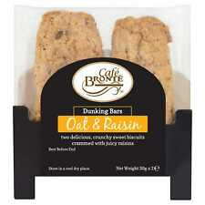 Cafe Bronte Oat & Raisin Biscuits Twin Pack - 24x2x30g