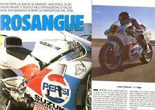 SP98 Clipping-Ritaglio 1990 Suzuki RGV 500 gamma