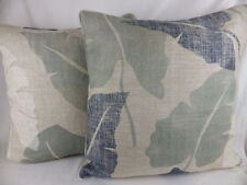 French Country 100% Linen Square Decorative Cushions
