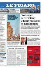 Le Figaro 16.12.2016 N°22504***YAHOO*Les défaits de la DROITE*GRAND PALAIS*TRUMP
