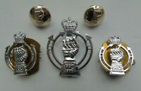 British Army Royal Armoured Corps Anodised Cap/Collar Badges & Buttons