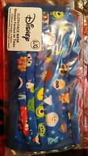 Disney Parks Pixar Characters Cloth Face Mask Adult Large - NEW Sealed