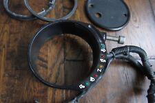 Harley Sportster Joker Machine Speedometer Tank Fork Mount Bracket w/ Wiring