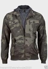 Polyester Zip Neck Military Men's Coats & Jackets