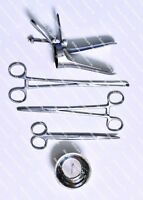 5pcs IUD Instruments Pack with Cusco Disposable ETO Sterilized Packed WS8046