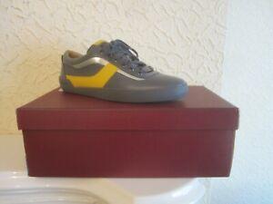 Bally Eron Calf Leather Paneled Men's Sneakers