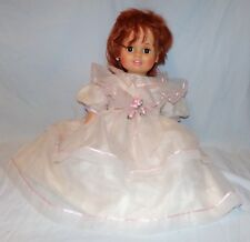 Vtg Baby Crissy Doll Lifesize Huggable Soft Toy Ideal 1973 Growing Hair Chrissy