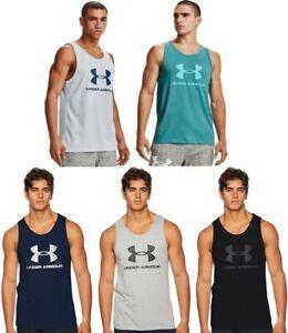 Under Armour Men's UA Sportstyle Logo Tank Top Athletic Shirt - 1329589