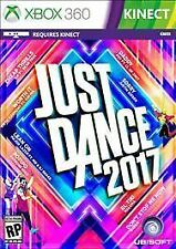 Just Dance 2017 (Microsoft Xbox 360, 2016) Brand new sealed