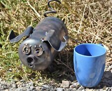 """New listing """"Piglets� Metal Garden or Yard Art pig made out of propane tanks recycled"""