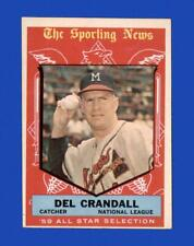 1959 Topps Set Break #567 Del Crandall AS EX-EXMINT *GMCARDS*