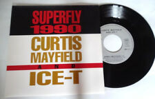 Curtis Mayfield & Ice T Superfly1990 french 45T Promo Vinyl MINT / MINT Unplayed