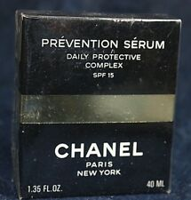 Chanel Prevention Serum Daily Protective Complex Full Size 40ml, 1.35oz SPF 15