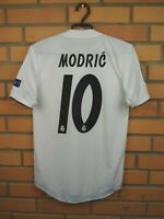 Modric Real Madrid Player Issue Jersey 2018 2019 Home XS Shirt CG0561 Adidas