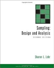 Sampling : Design and Analysis by Sharon L. Lohr (2009, Hardcover) 0495105279