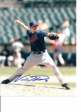 VINNIE PESTANO CLEVELAND INDIANS SIGNED AUTOGRAPHED 8X10 PHOTO W/COA