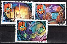 Russia Mongol - Soviet Space Joint Flight 1981 stamps set