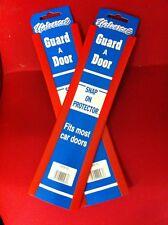 CAR DOOR EDGE GUARD PROTECTOR  RED  2 PACK  4 FT TOTAL LENGTH