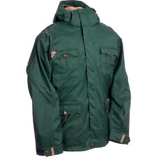 Ride Cappel Wellington Jacket Mens Snowboard Ski Waterproof Coat S Green $330
