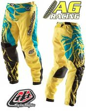 "Troy Lee Designs 2012 GP Air bestia pantalón Amarillo Motocross Enduro 34"" Tld"