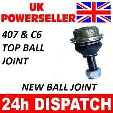 2 x PEUGEOT 407 /& C6 TOP BALL JOINTS PETROL /& DIESEL ALL MODELS 3640.74
